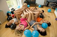 Belladonna lesbian feet party DSC066851