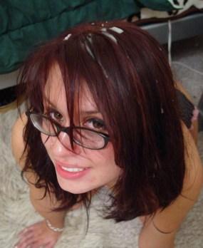 Eva Angelina hair cumshot