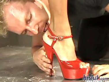 Jasmin St. Claire high heels feet