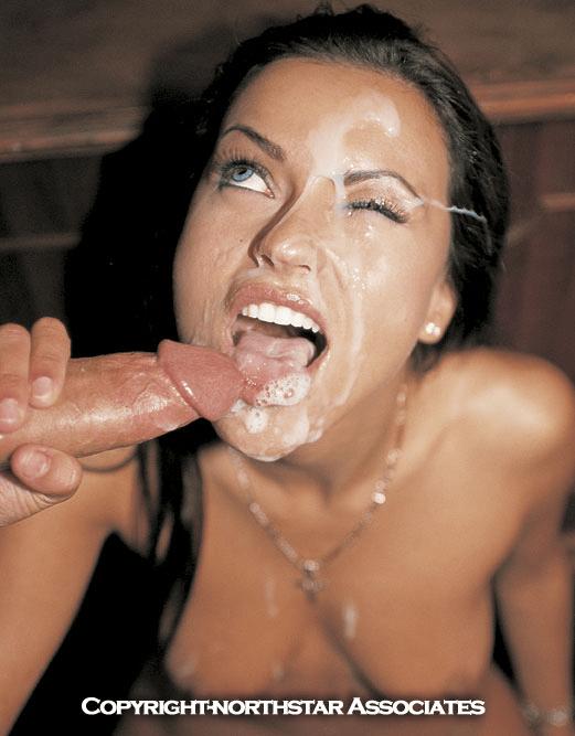 Nikita Denise Peter North facial cumshot