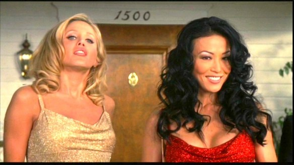 Amanda Swisten and Sung Hi Lee in The Girl Next Door 2004