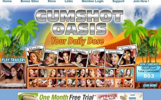 CUMSHOT OASSIS cumshotoasis.com