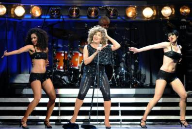 Clare Turton dancer Tina Turner