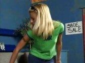 Cindy Crawford feet fetish blonde