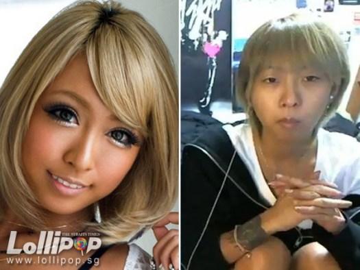 Japanese AV actress Mana Izumi without makeup 23 years old