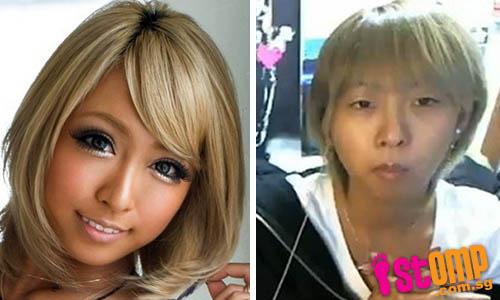Japanese AV actress Mana Izumi without makeup  japanese_models_popularity_plummets_after-
