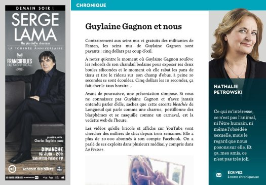 Guylaine Gagnon et nous