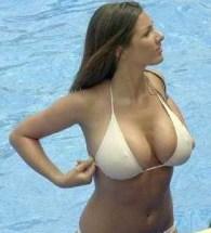 lucy-pinder-white-bikini-wet-in-pool