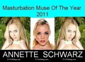 Annette Schwarz Masturbation Muse Of The Year 2011