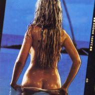 Christina Aguilera butt crack 1