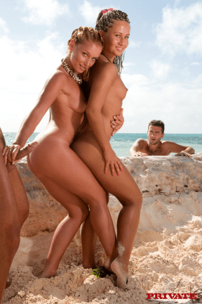 Kathy Campbel Sandra Anal Honeymoon In The Tropics 07
