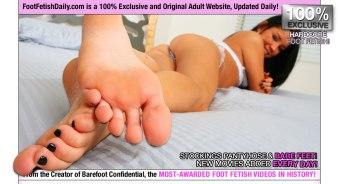 Tanner Mayes feet foot fetish