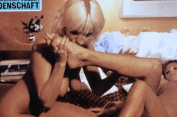 Marilyn Olinka retro porn feet