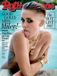 Miley Cyrus topless tits 21