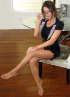 Brooke Tessmacher girls gotta booty animated gif barefoot feet Brooke_Adams.37