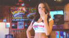 Brooke Tessmacher hooters kiss