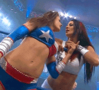 Brooke Tessmacher kiss Tara