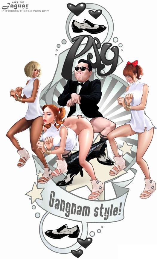 Gangnam Style porn