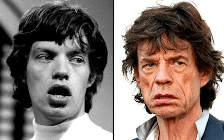 Mick Jagger age toll