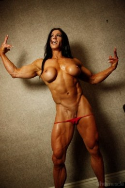 Angela Salvagno - Female Bodybuilder