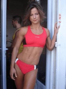 Sarah De Herdt the Belgian track and field star 07