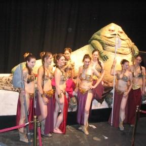 Jabba the Hutt harem