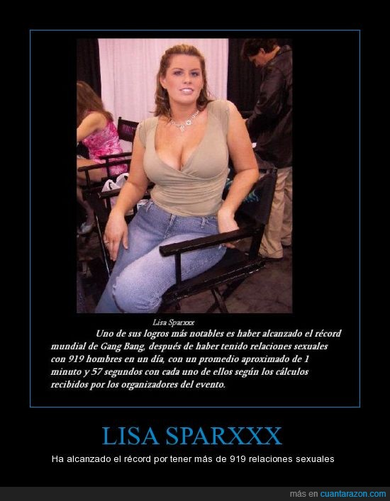 LISA SPARXXX Gang Bang 919 men