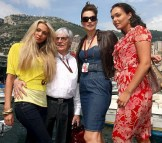 Rich guy Bernie Ecclestone