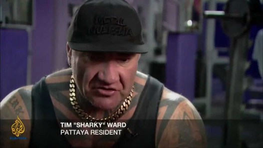 Tim Sharky Ward Pattaya President