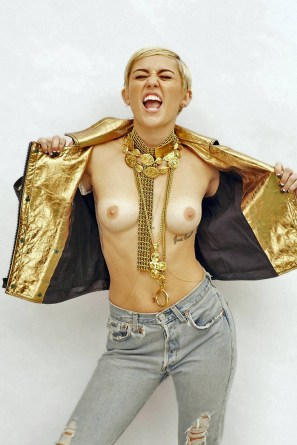 Miley Cyrus Naked Compilation 03