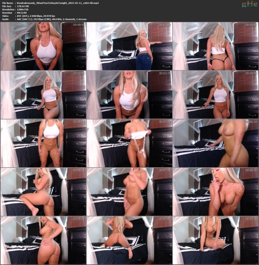 Kendra Muscle JOI webcam pornstar