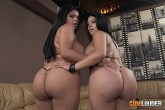 Sheilla and Kesha Ortega big ass porn sisters