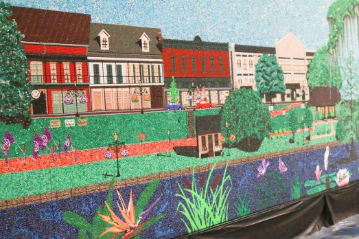 It's Natchitoches, in beads!