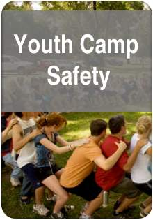 youth camp safety badge