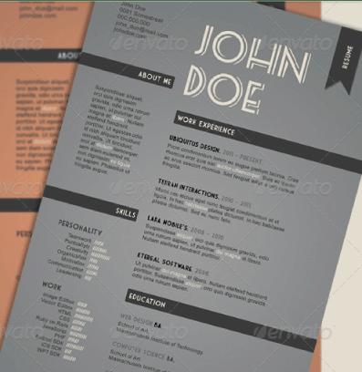 Vintage-Style-Resume