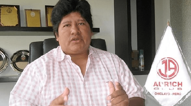 Edwin Oviedo. Empresario chiclayano exitoso.