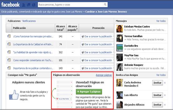herramientas Facebook