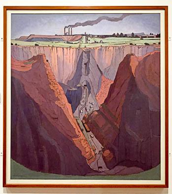 Premier Mine JH Pierneef (1932)