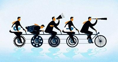 Los 5 beneficios del trabajo en equipo