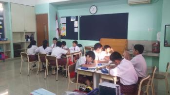Students were forced to move to other class.
