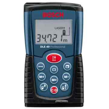 Ideal for taking measurements, in demanding environments such as constructions sites where the touch screen and more fragile model may not be suitable. More robust against knocks, falls and rain etc, making it a good reliable all round professional laser range finder.