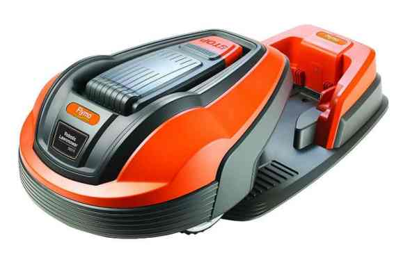 The Flymo 1200R Robotic Lawnmower is probably the best robotic lawnmower that you would say is affordable in Robotic Lawnmower terms, none of the them are what you would call cheap, however this model offers the best features and performance at a good price and it always seems to be dropping, when we first reviewed this model it was around £1000, now its nearly half that price only 18 months later and has probably been improved.