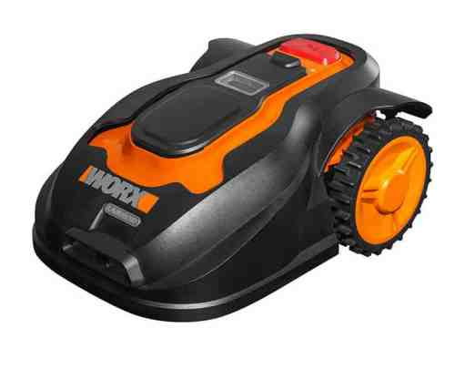 The WORX WG790E is one of the most technologically advanced models with build in collision and rain sensors, however everything is well explained for a user-friendly operation and its very easy to setup.   This model is a great choice for larger gardens or if you have different zones you need to mow as this model also have 'zone setting' unlike any of the other model we reviewed.  This model has now been out for a few years and has had some software updates to improve it, this means that is also now available at a much better price than previously.