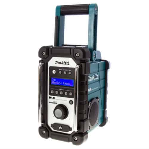 Though a lot more expensive than other DAB models, the Makita DMR104 DAB Job Site Radio is still a favourite for many people. This model had just about 180 reviews the first time we wrote this post but it's now past 230, and that shows how much it's popular out there.