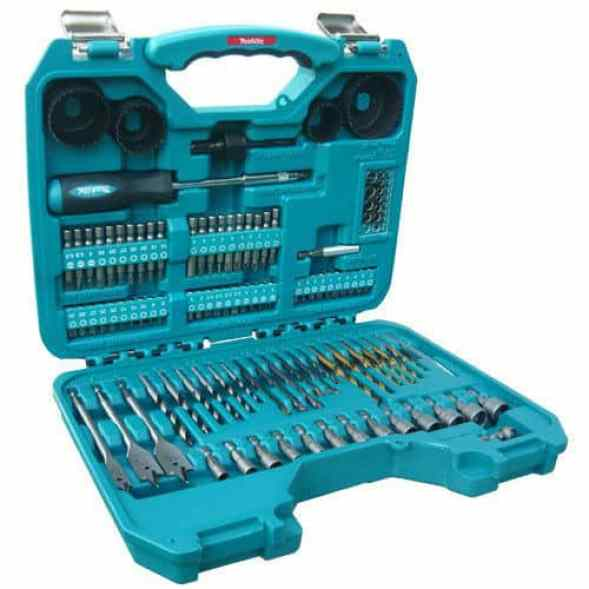 This power drill set is perfect for DIY enthusiasts as it sets a perfect balance between minimalist sets and the 'extreme' sets that you only end up using about 20 pieces.