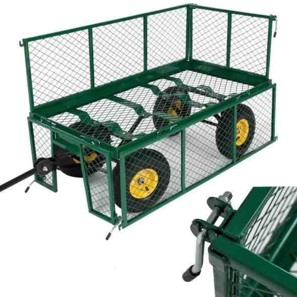 TecTake Heavy duty wheelbarrow garden trolley Review