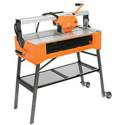 The Vitrex 103450 Power Pro 900 Wet Tile Saw is quite versatile and capable of cutting porcelain, granite, ceramic, marble tiles and natural stone. it really is a good decent machine.