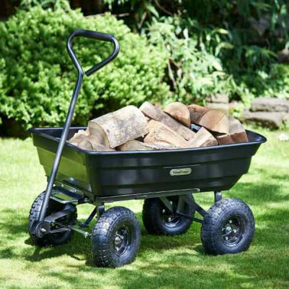 VonHaus 75L Garden Tipping Cart Review