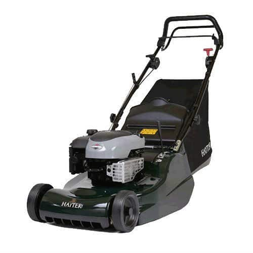 The Hayter Harrier-48 Autodrive Lawnmower is a very powerful and extremely well made mower and probably the best mower hear, it cut grass perfectly and it leaves nice stripes.