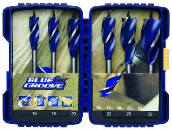 If you are looking for a quality set of auger drill bits, the Irwin Blue Groove Drill Bit 6 Piece Set is a magnificent option and maybe the last set you will buy